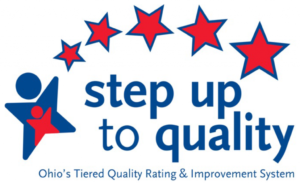 5 star rated step up to quality logo